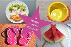 8x Zomerse DIY tips!