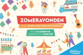Zomer in Openluchtmuseum